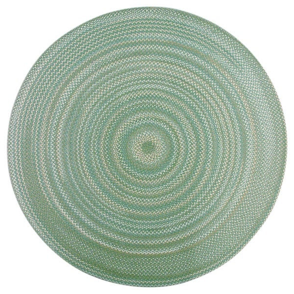 Watch Hill Sage Braided Rug 8 Round Free Shipping