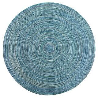 Brookline Multi Color Indoor/ Outdoor Braided Rug (8' Round)