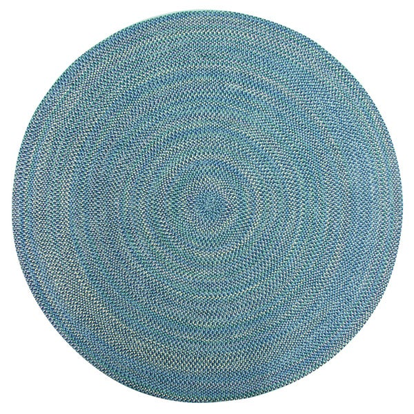 Brookline Multi Color Indoor/ Outdoor Braided Rug - 8' Round