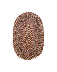 Smithfield Burgundy Indoor/ Outdoor Braided Rug (3'6 x 5'6)