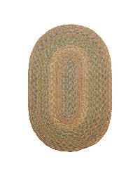 Smithfield Taupe Indoor/ Outdoor Braided Rug (3'6 x 5'6)