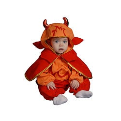 Dress Up America Infant's Little Devil Costume