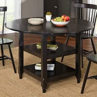Simple Living Cottage Dining Table - Black - N/A