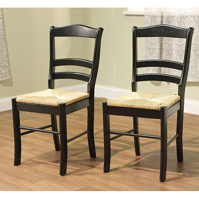 Simple Living Paloma Wooden Dining Chairs Set Of 2