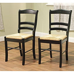 Simple Living Paloma Wooden Dining Chairs (Set of 2)