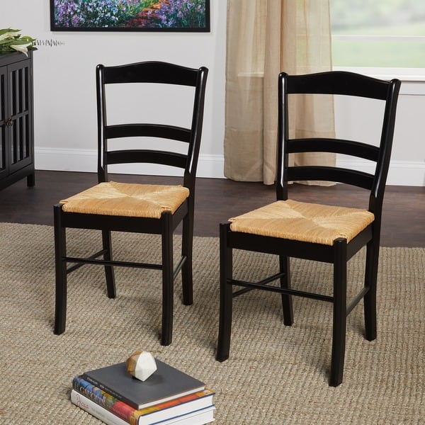Awesome Simple Living Paloma Wooden Dining Chairs Set Of 2 Machost Co Dining Chair Design Ideas Machostcouk