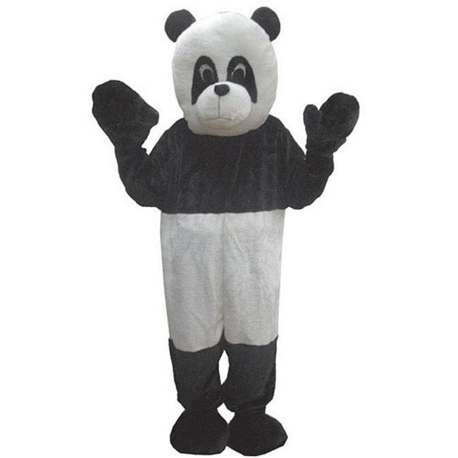 Adult Panda Mascot Costume Set