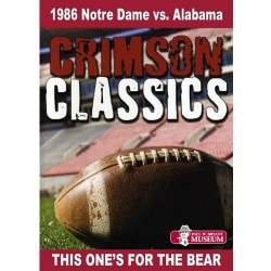 Crimson Classics: 1986 Alabama Vs. Notre Dame (DVD)