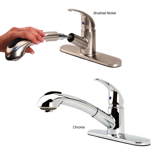 Fontaine Designer Pullout Kitchen Faucet