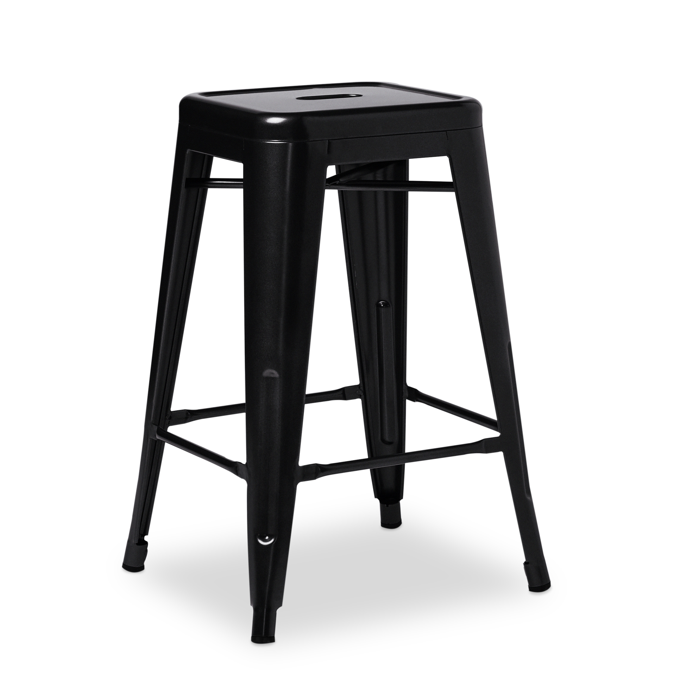 Marvelous I Love Living 24 Inch Black Metal Counter Stools Set Of 2 Ibusinesslaw Wood Chair Design Ideas Ibusinesslaworg