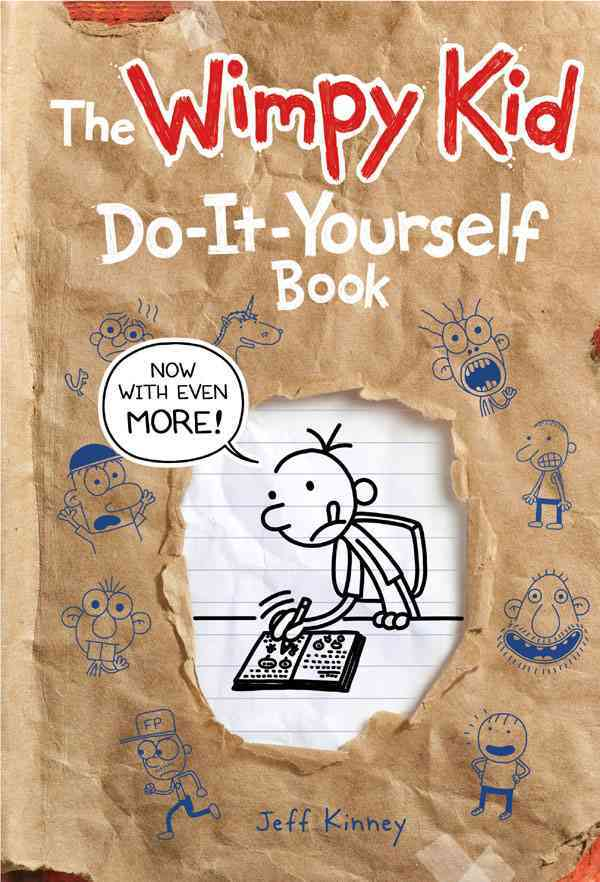 The Wimpy Kid Do-it-yourself Book (Hardcover) - Thumbnail 0