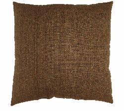 Fiddlestix Brown 16-inch Throw Pillows (Set of 2) - Thumbnail 1