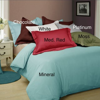Egyptian Cotton 600 Thread Count Oversized 3-piece Duvet Cover Set (More options available)