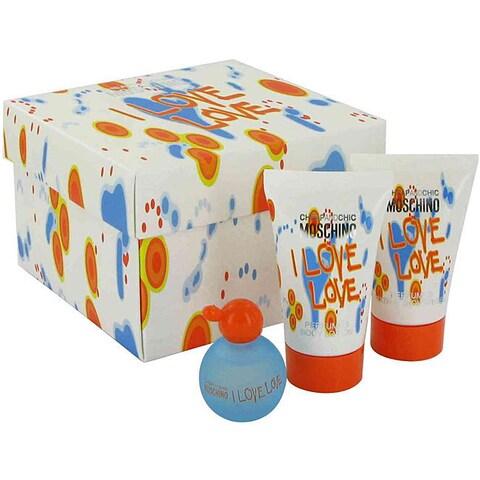 Moschino I Love Love Women's 3-piece Gift Set