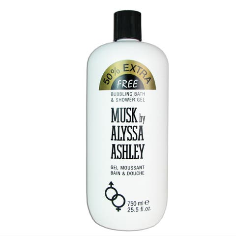 Alyssa Ashley Musk Women's 25.5-ounce Bubbling Bath & Shower Gel