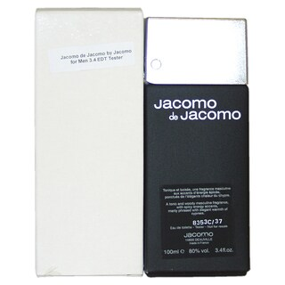 Jacomo Men's Jacomo de Jacomo 3.4-ounce Eau de Toilette Spray (Tester)