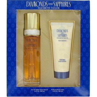 Elizabeth Taylor Diamonds and Sapphires 3.3-ounce Gift Set