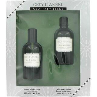 Geoffrey Bean Grey Flannel Men's Eau de Toilette and After Shave Gift Set