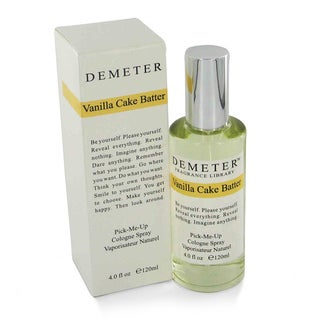 Demeter Vanilla Cake Batter Women's 4-ounce Cologne Spray