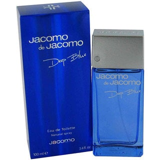 Jacomo de Jacomo Deep Blue Men's 3.4-ounce Eau de Toilette Spray