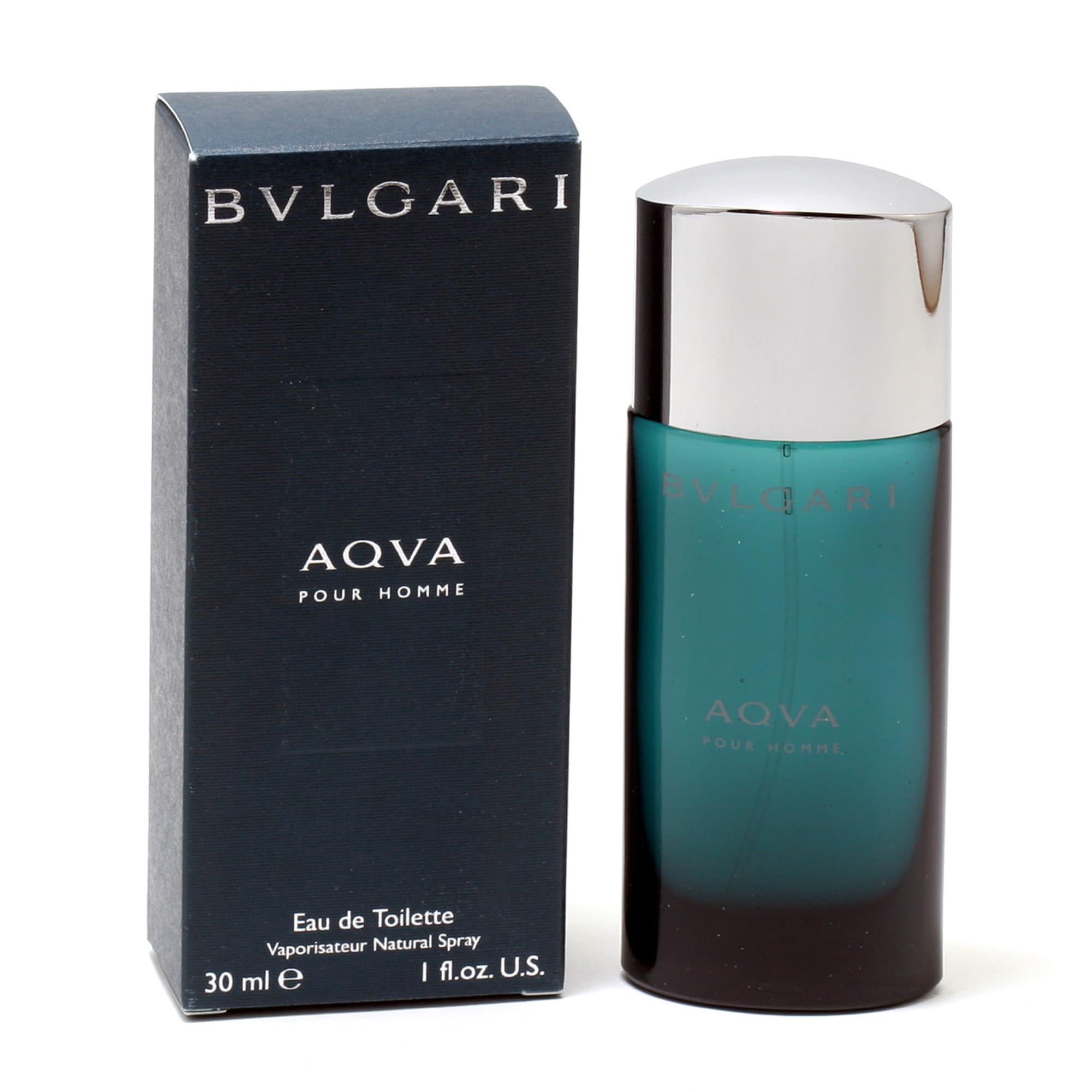 Bvlgari Aqua (Blue) Pour Homme Men's 1-ounce Eau de Toile...