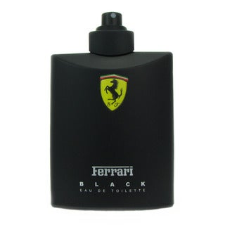 Ferrari Black Men's 4.2-ounce Casual Eau de Toilette Spray (Tester)