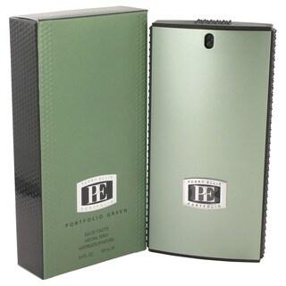Perry Ellis Portfolio Green Men's 3.4-ounce Eau de Toilette Spray