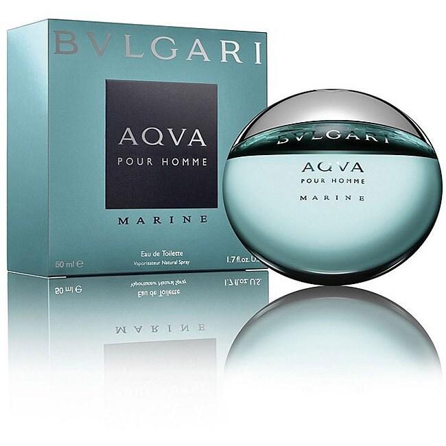 Bvlgari Men's Aqua Pour Homme Marine 1.7-ounce Eau de Toi...