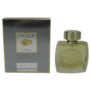 LALIQUE 2.5-ounce Eau De Toilette Spray Men's