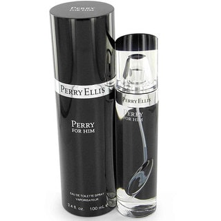 Perry Ellis Men's Black 3.4-ounce Eau de Toilette Spray