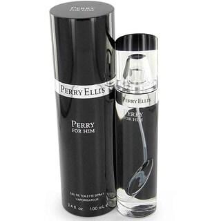 Perry Ellis Black Men's 3.4-ounce Eau de Toilette Spray