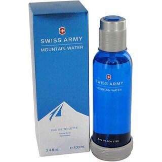 Swiss Army Mountain Water Men's 3.4-ounce Eau de Toilette Spray