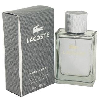 Fresh Lacoste Pour Homme Men's 1.6-ounce Eau de Toilette Spray