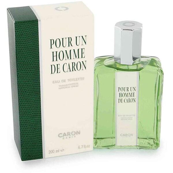 Caron Pour Homme Men's 4-ounce Eau de Toilette Spray