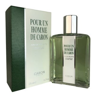 Caron Pour Homme Men's 4-ounce Eau de Toilette Spray