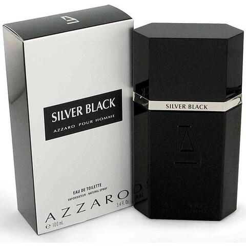Silver Black Men's 3.4-ounce Eau de Toilette Spray