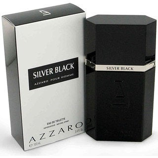 Silver Black Men's 3.4-ounce Eau de Toilette Spray