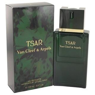 Van Cleef & Arpels Men's 'TSAR' 3.4-ounce Eau de Toilette Spray