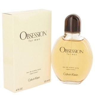 Calvin Klein Obsession Men's 4-ounce Eau de Toilette Spray