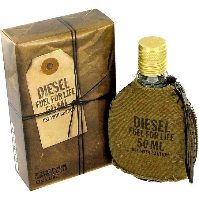 Diesel Fuel for Life Men's 1.7-ounce Eau de Toilette Spra...