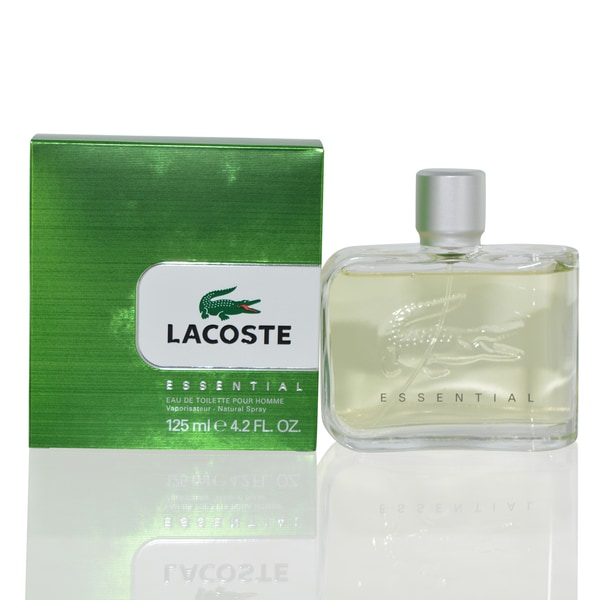ca6fa13210 Shop Lacoste Essential Men's 4.2-ounce Eau de Toilette Spray - Free  Shipping On Orders Over $45 - Overstock - 4255471