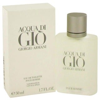 Link to Giorgio Armani Acqua Di Gio Men's 1.7-ounce Eau de Toilette Spray - Clear Similar Items in Perfumes & Fragrances