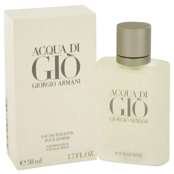 Giorgio Armani Acqua Di Gio Men's 1.7-ounce Eau de Toilette Spray - Clear. Opens flyout.