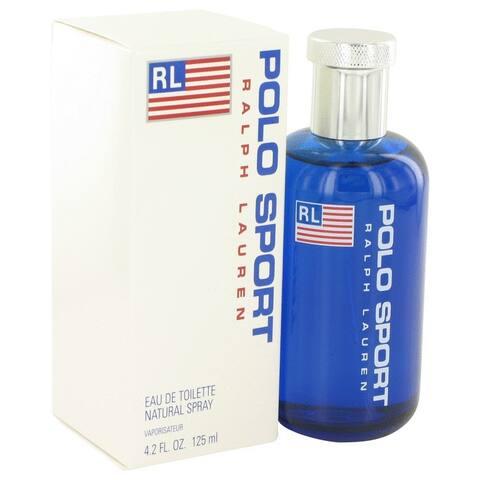 Ralph Lauren Polo Sport Men's 4.2-ounce Eau de Toilette Spray