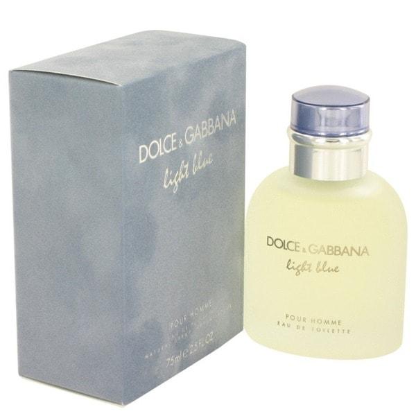 f5a65ae6 Shop Dolce & Gabbana Light Blue Men's 2.5-ounce Eau de Toilette Spray -  Free Shipping Today - Overstock - 4255506
