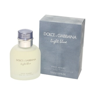 Dolce & Gabbana Light Blue Men's 2.5-ounce Eau de Toilette Spray