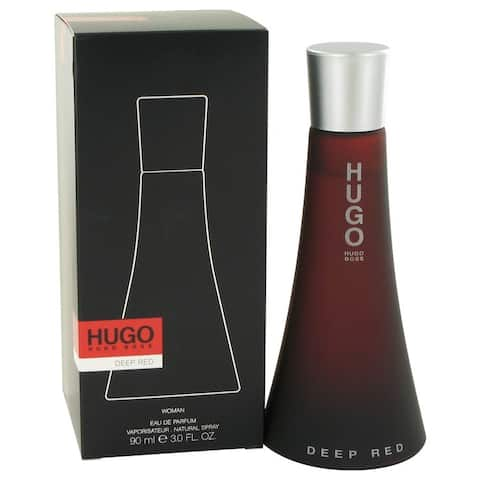Hugo Deep Red Women's 3-ounce Eau de Parfum Spray