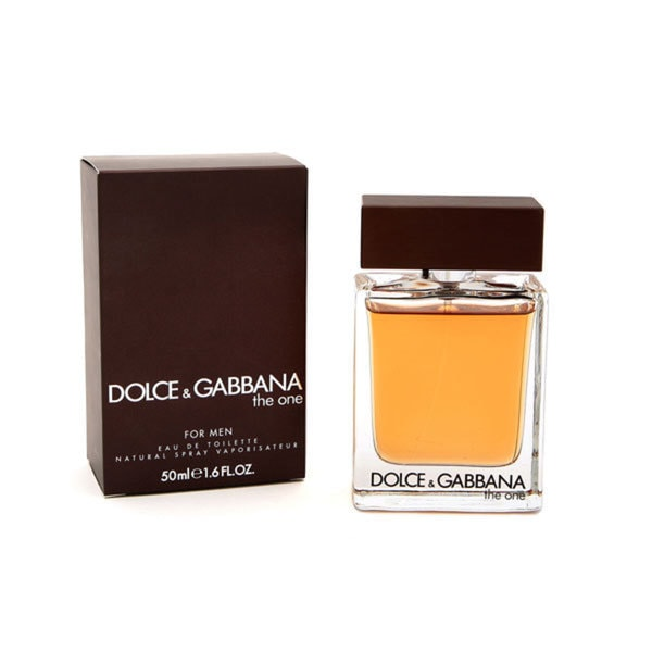 Dolce & Gabbana The One EDT Spray for Men, 1.6 Oz