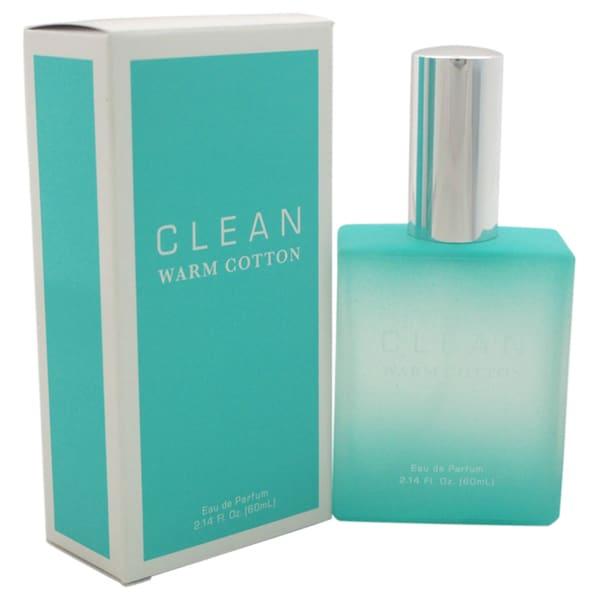 Clean Warm Cotton Women's 2.14-ounce Eau de Parfum Spray