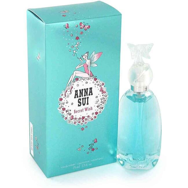 Anna Sui Secret Wish Women's 2.5-ounce Eau de Toilette Sp...